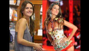 Alessandra Ambrosio sin maquillarse