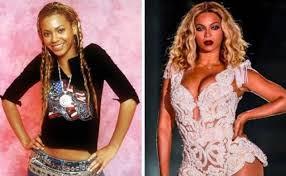 Beyonce joven