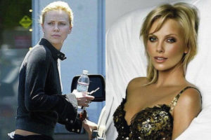 Charlize Theron sin nada de maquillaje