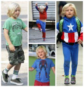 Gwen Stefani hijo menor