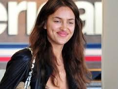 Irina Shayk sin maqillaje