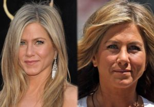 Jennifer Aniston sin maquillaje