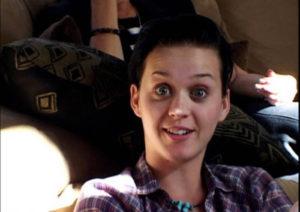 Katy Perry sin maquillar