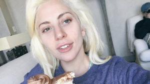 Lady Gaga sin maquillar