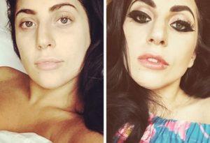 Lady Gaga sin nada de maquillaje