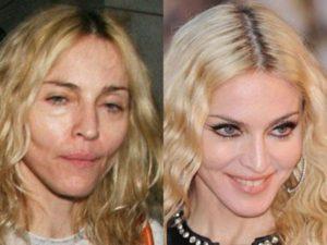 Madonna sin maquiillaje