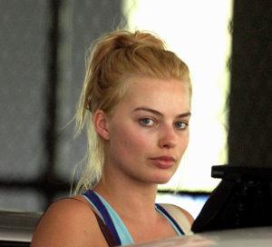 Margot Robbie sin maquillaje
