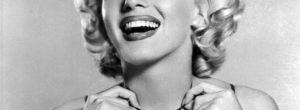 Marilyn Monroe sin maquillaje