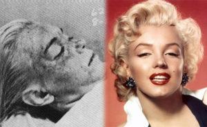 Marilyn Monroe muerta
