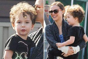 Natalie Portman hijo