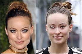 Olivia Wilde sin maquillaje