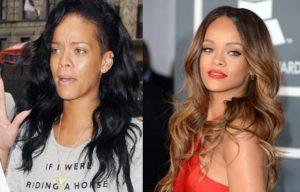 Rihanna natural