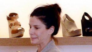 Sandra Bullock sin maquillar