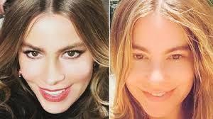 Sofía Vergara sin maquillar