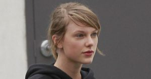 Taylor Swift sin maquillar