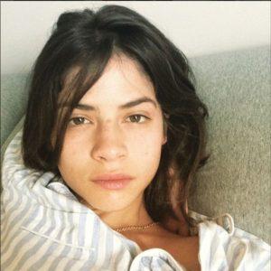Alba Galocha sin maquillar