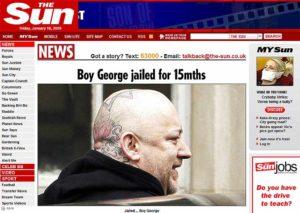 Boy George escandalo
