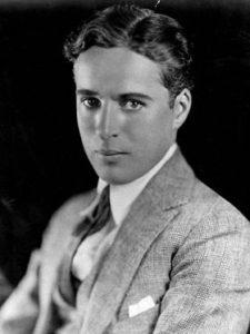 Charles Chaplin famoso sin maquillaje