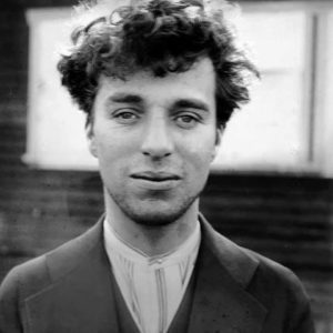 Charles Chaplin sin aquillajes