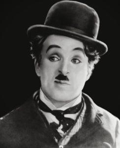 Charles Chaplin sin maquillajes