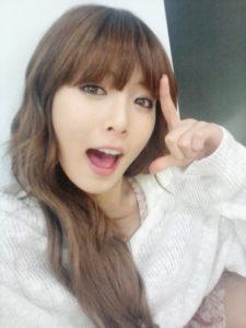 Hyuna sin maquillar