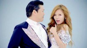 Hyuna y Psy