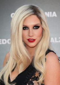 Kesha maquillada