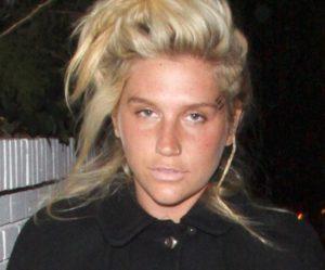 Kesha sin maquillaje