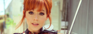 Lindsey Stirling sin maquillaje