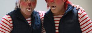 Los Chicharrines sin maquillaje