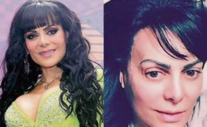 Maribel Guardi famosa sin maquillaje
