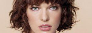 Milla Jovovich sin maquillaje