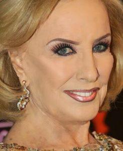 Mirtha Legran sin maquillaje