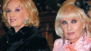 Mirtha Legrand y su hermana