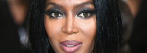 Naomi Campbell sin maquillaje