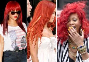 Rihanna sin peluca