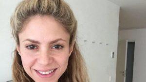 Shakira famosa sin maquillaje