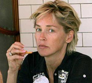 Sharon-Stone-famosa-sin-maquillaje