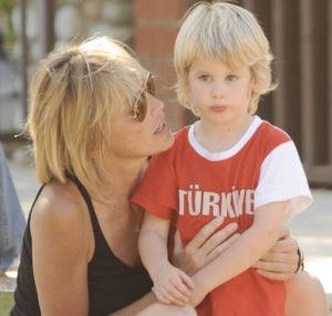 Sharon Stone hijos