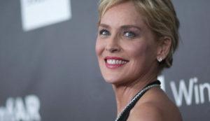 Sharon Stone sin maquillar