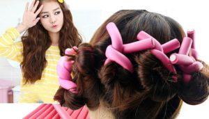 como ondular el cabello largo