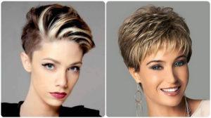 mechas pelo corto para mujeres