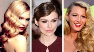 peinados años 50 actrices famosas