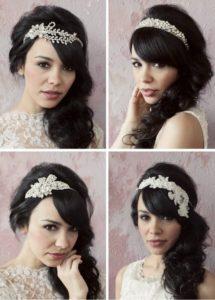peinados años 20 novias