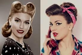 peinados años 50 media melena