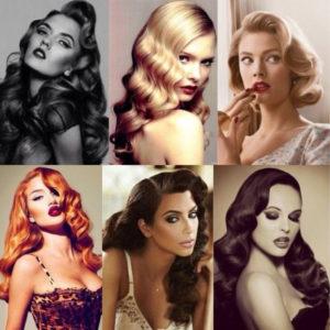 peinados años 50 famosas