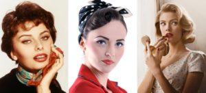 peinados años 50 mujeres