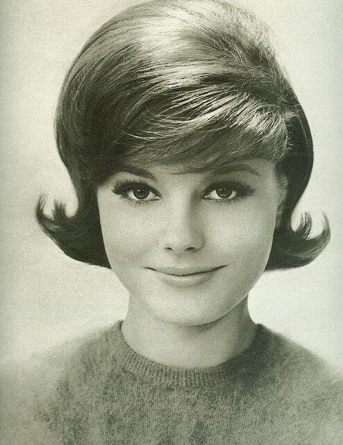 peinados años 60 pelo corto
