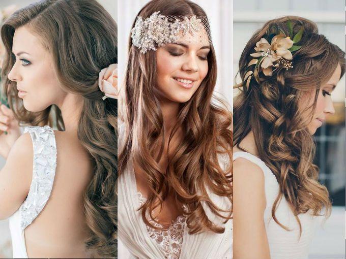 peinados con ondas para bodas