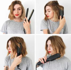 peinados con ondas pelo corto